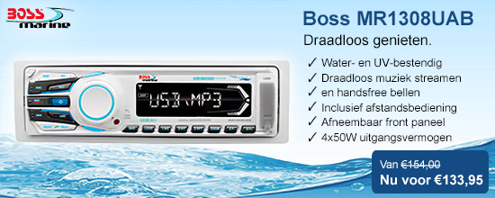 Boss Audio MR1308UAB Boot Radio